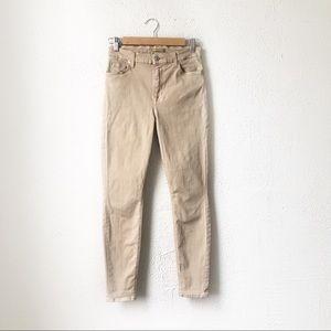 7 For All Mankind | Skinny Light Khaki Jeans 27